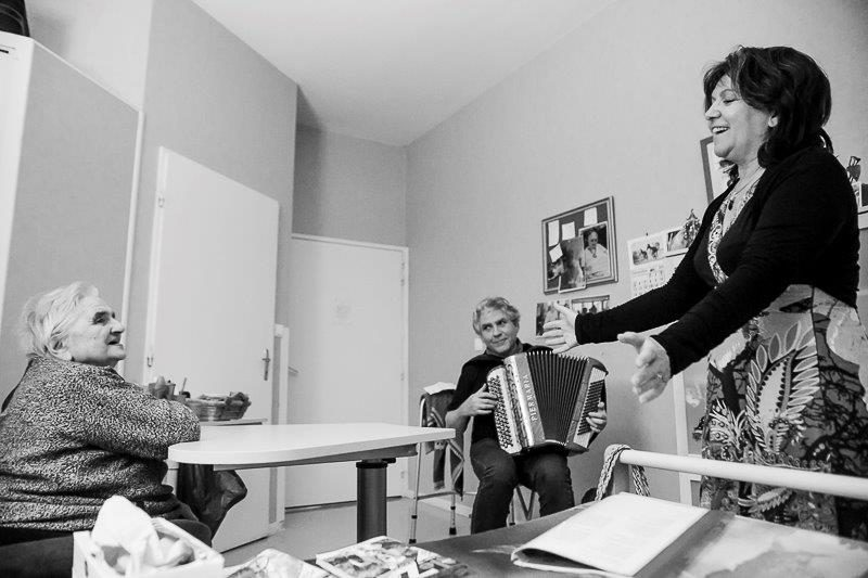 """Animation spécifique, """"Concert en chambre"""" pour l'Hôpital de La Rochefoucauld"""