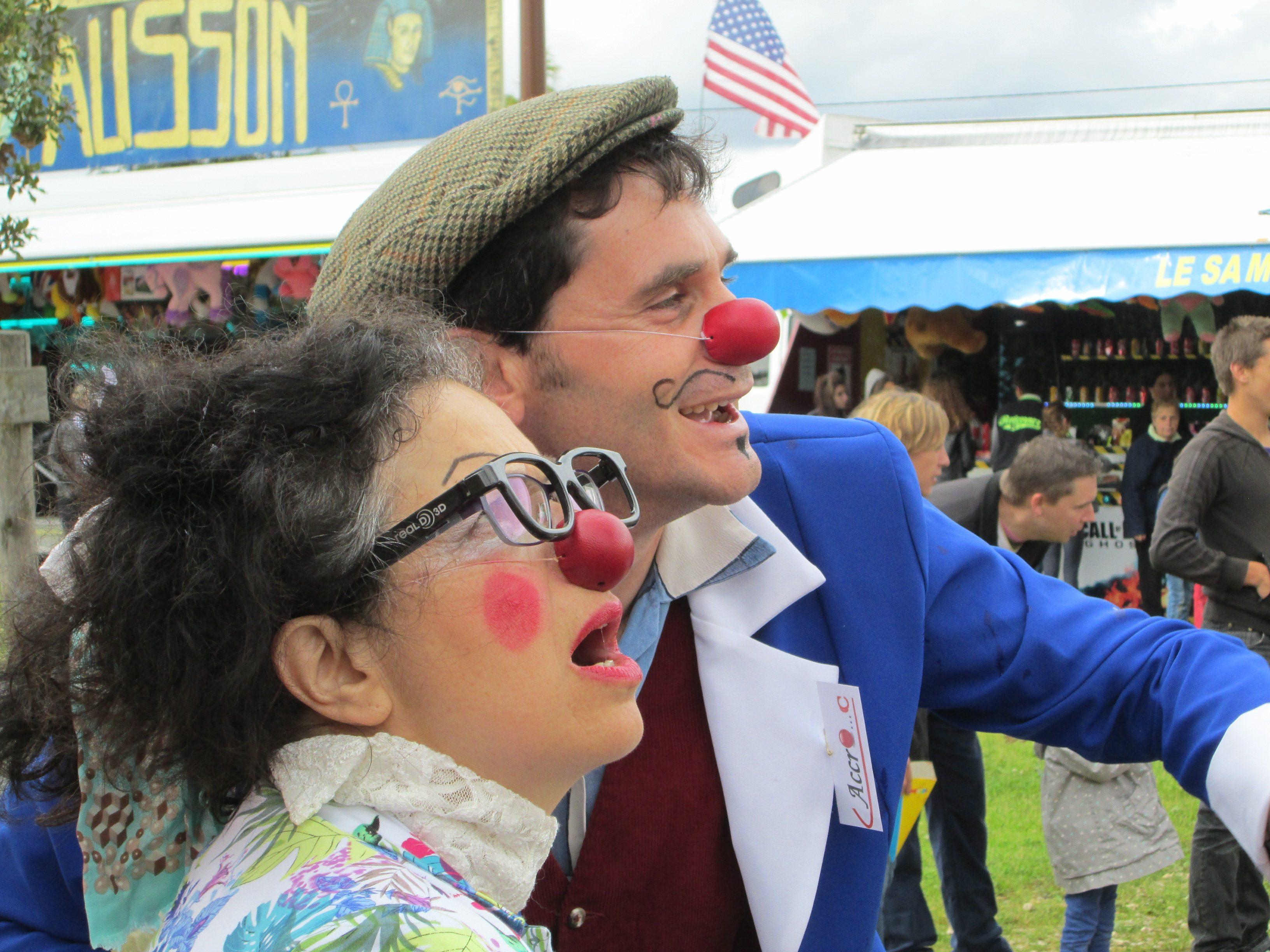 Mon clown et moi, émoi