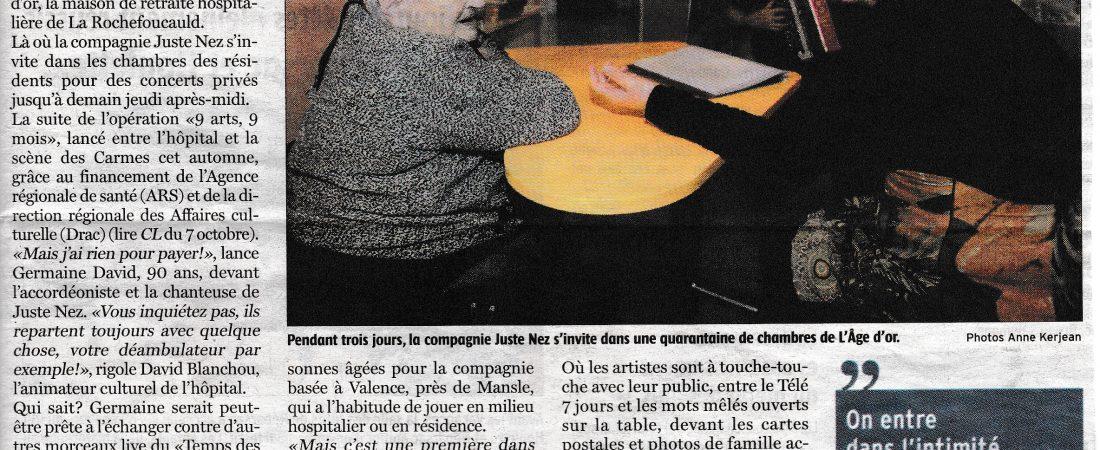 """Maison de retraite """"L'Âge d'Or"""" – La Rochefoucauld"""