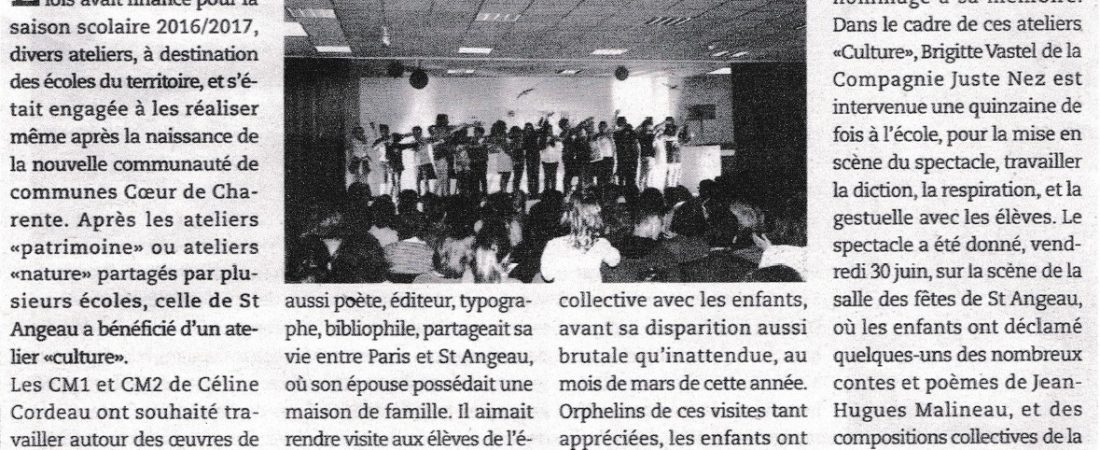 Article – St Angeau – RPI